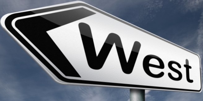 west-directional-sign